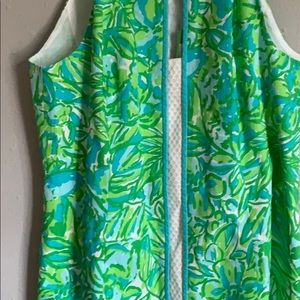 Lilly Pulitzer Dresses - Lilly Pulitzer Fresh Citrus Green Parrot Dress